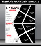 Fashion Salon Flyer Template Stock Photos