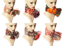 Fashion Scarves Stock Images