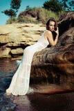 Fashion in the sea Stock Photo