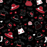 Fashion seamless pattern Royalty Free Stock Photo