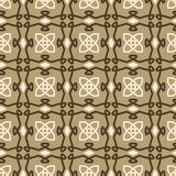 Fashion seamless tile vector pattern Royalty Free Stock Photography