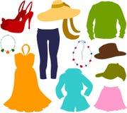 Fashion set 03 Stock Photography