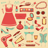 Fashion set Royalty Free Stock Photography