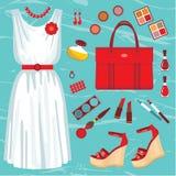 Fashion set Royalty Free Stock Image
