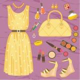 Fashion set Royalty Free Stock Photos