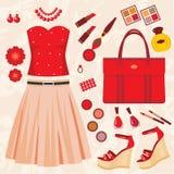 Fashion set Royalty Free Illustration