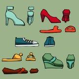 Fashion set.  Graphic style Stock Image