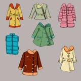 Fashion set.  Graphic style Stock Images