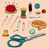 Fashion set. Graphic style royalty free illustration