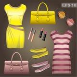 Fashion set. Royalty Free Stock Photo