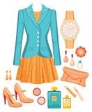 Fashion seten Arkivbilder