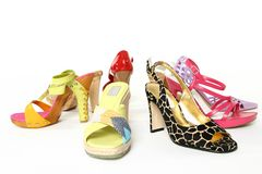 Fashion shoes Stock Photo