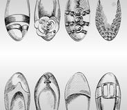Fashion  shoes. Royalty Free Stock Image