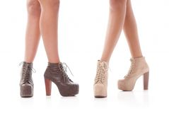 Fashion shoes Royalty Free Stock Image
