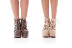 Fashion shoes Stock Photos