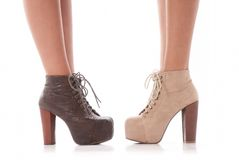 Fashion shoes Royalty Free Stock Photos