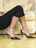 Fashion shoes Stock Photography