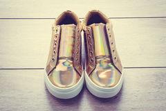 Fashion shoes and sneaker Royalty Free Stock Image