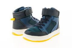 Fashion shoes and sneakers Royalty Free Stock Images