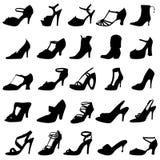 fashion shoes women 库存照片