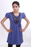 Fashion Shoot with female model. Female model shoot with western outfits india teenagers Stock Photography