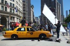 New York City Fashion Shoot Royalty Free Stock Photo