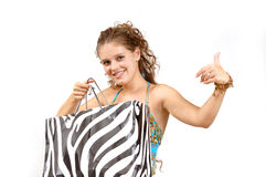 Fashion in shop Royalty Free Stock Images