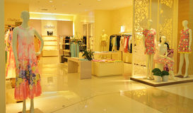 Fashion shop Royalty Free Stock Photos