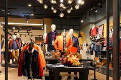 Fashion shop Stock Images