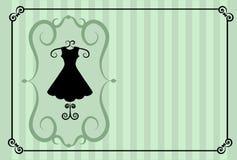 Fashion shop. retro template design Stock Photo