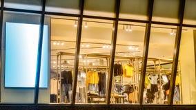 Fashion shop window Stock Photo