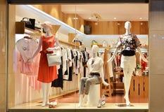 Fashion shop window Royalty Free Stock Image