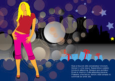 Fashion shopping female Stock Photography