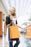 Fashion shopping woman Royalty Free Stock Photography