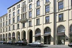 Fashion shops at the  Maximilianstrasse in Munich, Bavaria Stock Photo