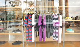 Fashion shopwindow Stock Images