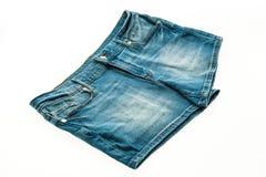 Fashion short jean pants for women Royalty Free Stock Photos