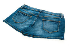 Fashion short jean pants for women Stock Images