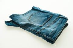 Fashion short jean pants for women Royalty Free Stock Photo