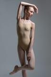 Fashion shot of a ballerina Royalty Free Stock Image