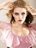 Fashion Shot Of Caucasian Girl Royalty Free Stock Photography