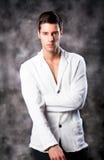 Fashion Shot of a macho Man Royalty Free Stock Photos