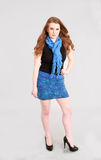 Fashion shot of teen girl Stock Image