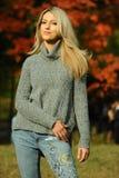 Fashion shot of young beautiful girl. stock photography