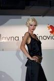 Fashion Show 9. Fashion Show in Belgrade, Serbia, 21.10.2008. Designer Slavna Martinovic, sponsored by VIP mobile Royalty Free Stock Photography