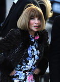 Fashion Show, Anna Wintour Stock Photography
