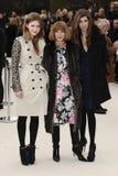 Fashion Show, Anna Wintour Stock Photo