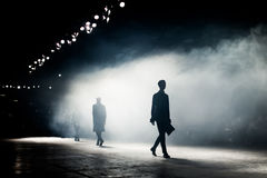 Fashion Show, A Catwalk Event Blurred on Purpose. Fashion Show, A Catwalk Event, Runway Show stock images