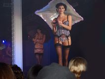 Fashion Show - Editorial Use Only stock image