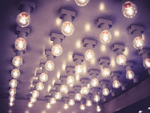 Fashion show Event Lights decoration background Royalty Free Stock Photos